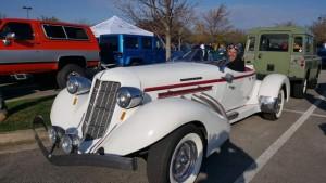 Tom B's Auburn Speedster Replicar